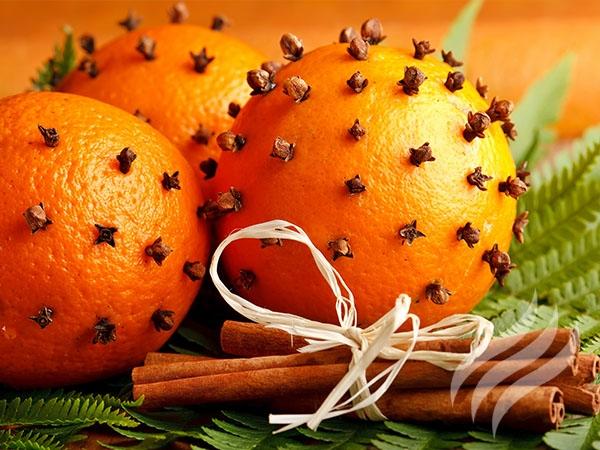 Помандеры - украшение новогоднего стола