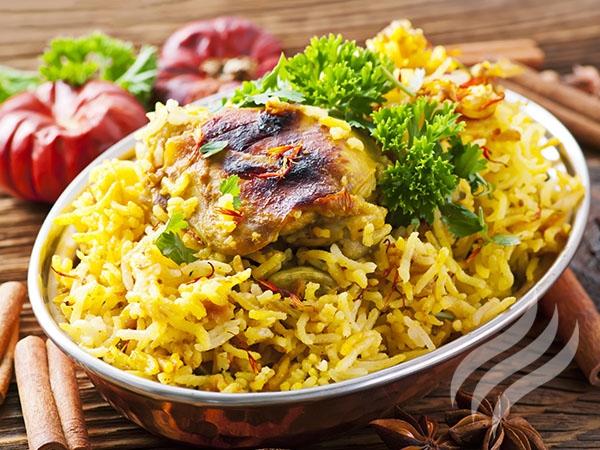 сочетание пряностей с рисом